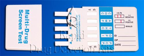 COC/AMP/THC/OPI/PCP (DOA-154)