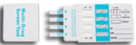 4-Drug Test Card (COC/mAMP/THC/OPI)